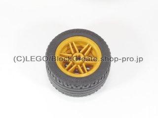 #56145/44309 ホイール 30.4x20 (タイヤ付) 【パール金】 /Wheel Rim 30x20 with No Pinholes :[Pearl Gold]