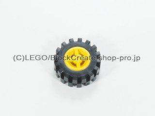 #73420 ホイール 8x6.4 (タイヤ付)  【黄色】 /Wheel Rim 8x6.4 Assembly :【Yellow】