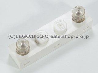 #4771 エレクトリック・ライト&サウンドブロック 1x4  【白】 /Electric Light & Sound Brick 1x4 with Twin Top Lights :[White]