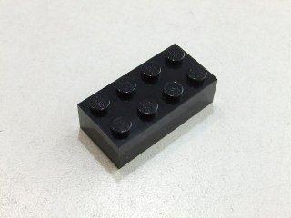 #3001 ブロック 2x4 【黒】 /Brick 2x4:[Black] 新品