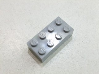 #3001 ブロック 2x4 【新灰】 /Brick 2x4:[Light Bluish Gray] 新品