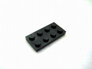 #3020 プレート 2x4 【黒】 /Plate 2x4:[Black]