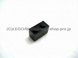 #3004 ブロック 1x2 【黒】 /Brick 1x2:[Black]