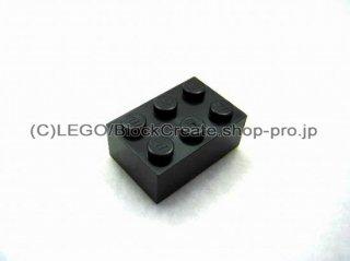 #3002 ブロック 2x3 【黒】 /Brick 2x3:[Black]