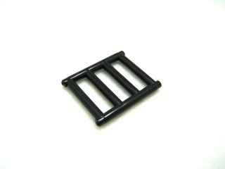 #62113  バー 1x4x3  【黒】 /Bar 1x4x3 with 4 End Protrusions  :[Black]