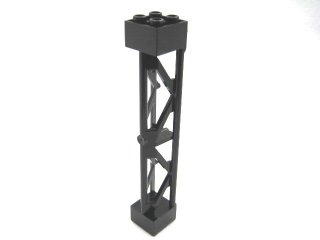 #58827 サポート 2x2x10  三角桁 縦  【黒】 /Support 2x2x10 Girder Triangular Vertical  :[Black]