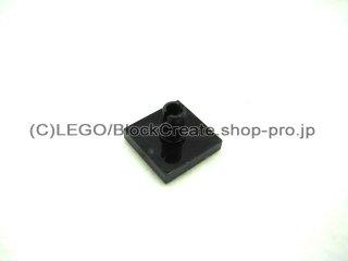 #2460 タイル 2x2 垂直ピン  【黒】 /Tile 2x2 with Vertical Pin  :[Black]
