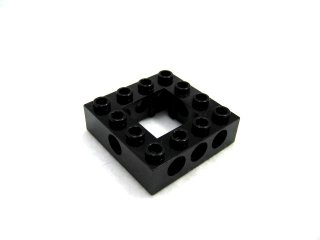 #32324 テクニック  枠ブロック 4x4  【黒】 /Technic Brick 4x4 with Open Center 2x2  :[Black]