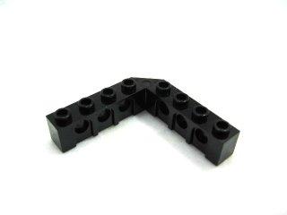 #32555 テクニック  ブロック 5x5 ライトアングル  【黒】 /Technic Brick 5x5 Corner with Holes :[Black]