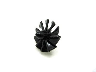 #46667 ジェットエンジンセンター  ラージ  【黒】 /Rotor Blades 24 with Pin :[Black]