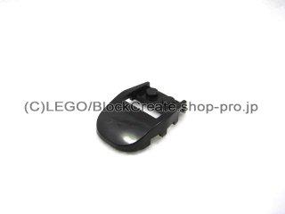 #50948 ウェッジ  4x3 カットバック カットアウト  【黒】 /Slope 3x4x0.667 Curved with 2x2 Cutout  :[Black]