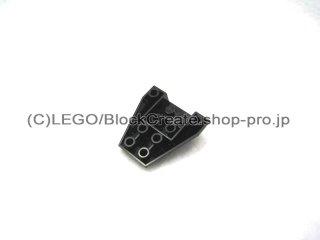 #4855 ウェッジ  4x4  逆3面カーブ  【黒】 /Wedge 4x4 Triple Inverted without Reinforced Studs :[Black]