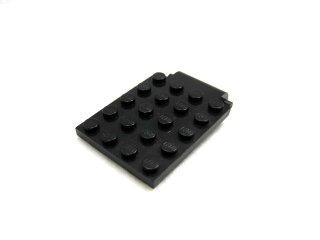 #30042  プレート 4x5  トラップドア  【黒】 /Plate 4x5 Trap Door :[Black]