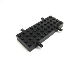#30076 ホイール ホルダー - ブロック 4x10  【黒】 /Brick 4x10 with Wheel Holders  :【Black】