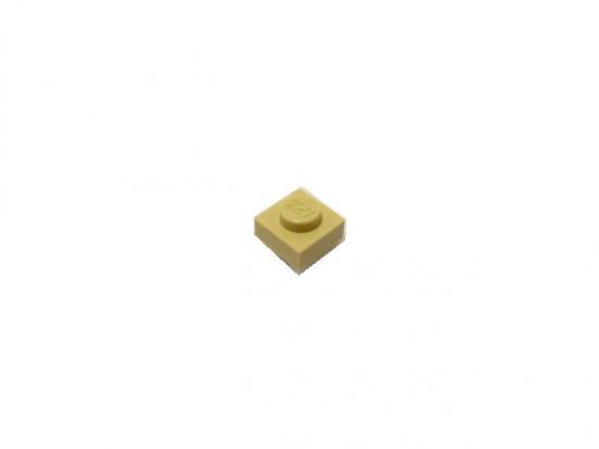 LEGO® Tan Plate 1 x 1 Design ID 3024