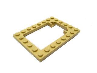 #30041  プレート 6x8  トラップドアフレーム  【タン】 /Plate 6x8 Trap Door Frame :[Tan]