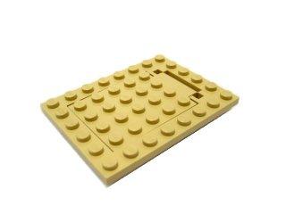 #30041/30042  プレート 6x8  トラップドア セット  【タン】 /Plate 6x8 Trap Door Set :[Tan]