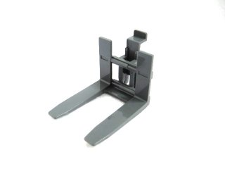 #45707  フォークリフト用フォーク  【新濃灰】 /Forklift Forks 4x7 without Rubber Belt Holder :[Dark Bluish Gray]