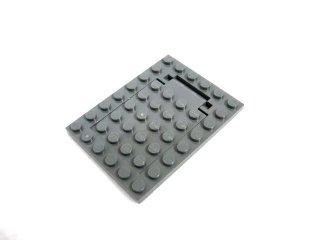 #30041/30042  プレート 6x8  トラップドア セット  【新濃灰】 /Plate 6x8 Trap Door Set :[Dark Bluish Gray]