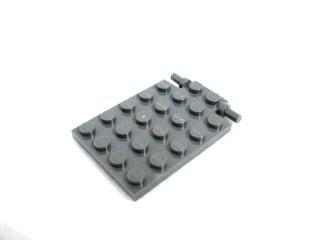 #92099  プレート 4x5  トラップドア  【新濃灰】 /Plate 4x5 Trap Door :[Dark Bluish Gray]
