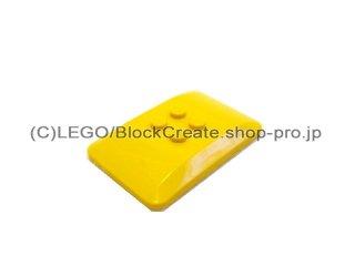 #98281 ウェッジ 4x6x2/3 4面カーブ  【黄色】 /Roof 4x6x2/3  :[Yellow]
