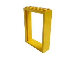 #4071 ドアフレーム 2x6x7  【黄色】 /Door 2x6x7 Frame  :[Yellow]