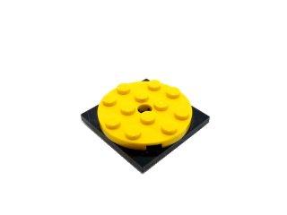 #61485/60474  ターンテーブル 4x4 フラット  【黄色】 /Turntable Flat  4x4 :[Yellow]