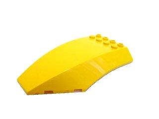 #45705 ウィンドスクリーン 10x6x2  【黄色】 /Windscreen 10x6x2 :【Yellow】
