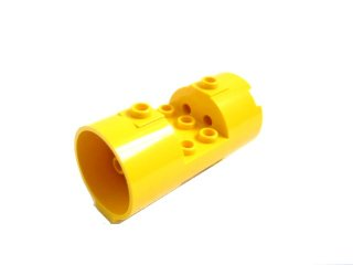 #30360 シリンダー 3x6x2 2/3  【黄色】 /Cylinder 3x6x2  2/3 Horizontal Hollow :【Yellow】