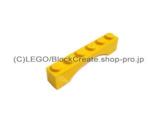 #3455 アーチ 1x6  【黄色】 /Arch 1x6 Continuous Bow  :[Yellow]