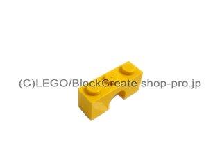 #4490 アーチ 1x3  【黄色】 /Arch 1x3  :[Yellow]