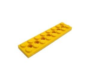 #3738 テクニック  プレート 2x8 穴あき 【黄色】 /Technic Plate 2x8 with Holes  :[Yellow]