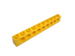 #2730 テクニック  ブロック 1x10 【黄色】 /Technic Brick 1x10 with Holes  :[Yellow]