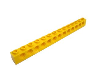 #32018 テクニック  ブロック 1x14 【黄色】 /Technic Brick 1x14 with Holes :[Yellow]