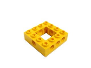 #32324 テクニック  枠ブロック 4x4  【黄色】 /Technic Brick 4x4 with Open Center 2x2  :[Yellow]