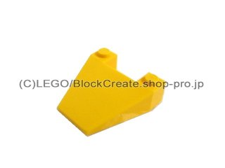 #4858 ウェッジ 4x4  【黄色】 /Wedge 4x4 without Stud Notches :[Yellow]
