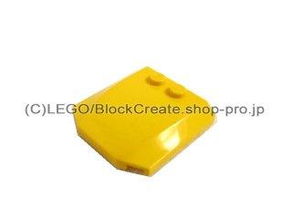 #45677 ウェッジ  4x4x2/3 カーブ  【黄色】 /Wedge 4x4x0.66 Curved  :[Yellow]