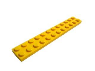 #2445 プレート 2x12 【黄色】 /Plate 2x12:[Yellow]