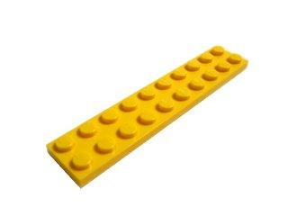 #3832 プレート 2x10 【黄色】 /Plate 2x10:[Yellow]