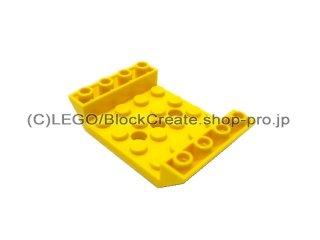 #60219  逆スロープ 45° 6x4 穴3  【黄色】 /Slope 45° 6x4 Double Inverted :[Yellow]