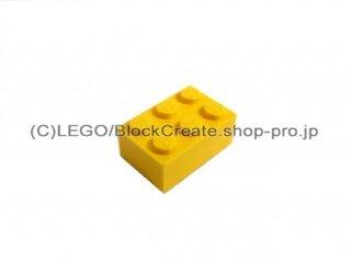 #3002 ブロック 2x3 【黄色】 /Brick 2x3:[Yellow]