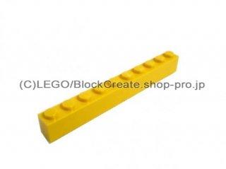 #6111 ブロック 1x10 【黄色】 /Brick 1x10 :[Yellow]