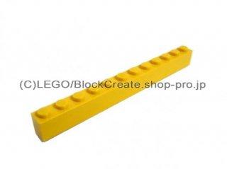 #6112 ブロック 1x12 【黄色】 /Brick 1x12 :[Yellow]
