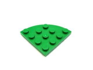 #30565 プレート ラウンドコーナー 4x4  【緑】 /Plate 4x4 Corner Round  :[Green]