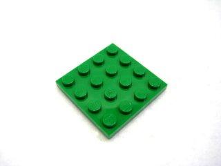 #3031 プレート 4x4  【緑】 /Plate 4x4 :[Green]