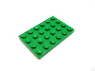 #3032 プレート 4x6  【緑】 /Plate 4x6 :[Green]