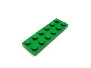 #3795 プレート 2x6 【緑】 /Plate 2x6:[Green]
