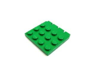 #4213  ヒンジ プレート 4x4(車屋根)  【緑】 /Hinge Car Roof 4x4 :[Green]