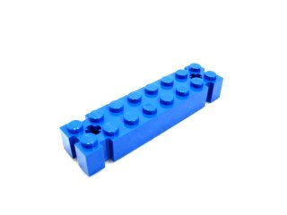 #30520 ブロック 2x8 溝つき  【青】 /Brick 2x8 with Axleholes and 6 Notches :[Blue]