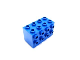 #2434 ブロック 2x4x2 3面スタッド 【青】 /Brick  2x4x2 with Studs on Sides  :[Blue]